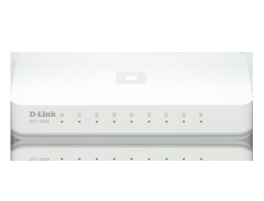Switch 8p D-Link DES-1008A 10/100Mbps - DES-1008A