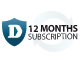 12-Month Web Content Filtering Licence Subscription Kit for DFL-260